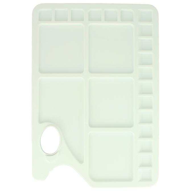 Palette rectangulaire 34 x 23 cm en plastique