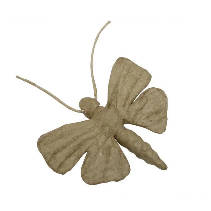 Papillon en papier mâché