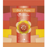 Papier pailleté Glit's Paper 18 nuances de rouge - orange 200 g/m²