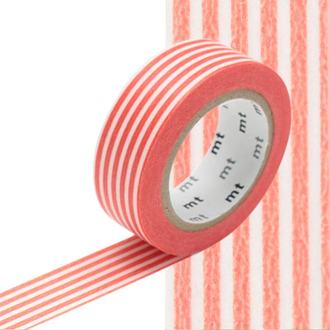 Masking Tape lignes orange