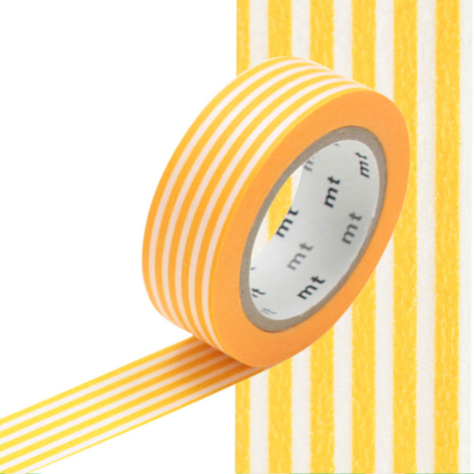 Masking Tape lignes jaunes