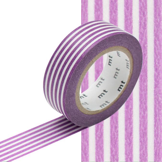 Masking Tape lignes violettes
