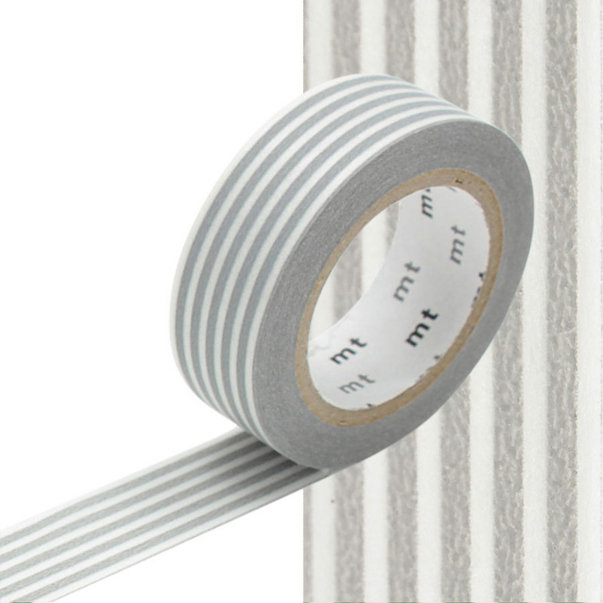 Masking Tape lignes grises