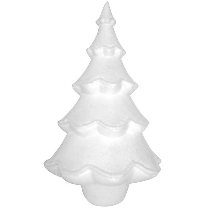 Sapin polystyrène 38 x 23 x 23 cm