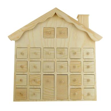 chalet calendrier de l 39 avent 36 cm ctop chez rougier pl. Black Bedroom Furniture Sets. Home Design Ideas