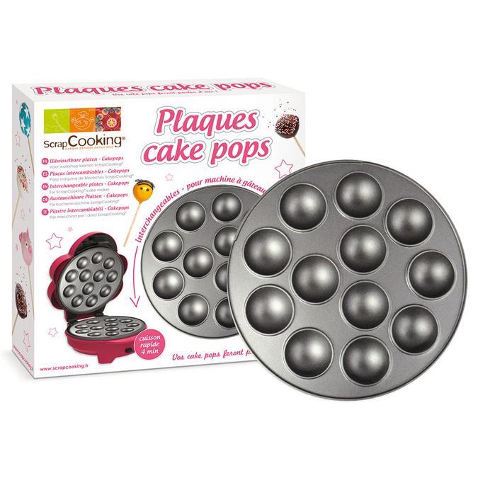 Plaque pour machine à gâteaux Cake Pops