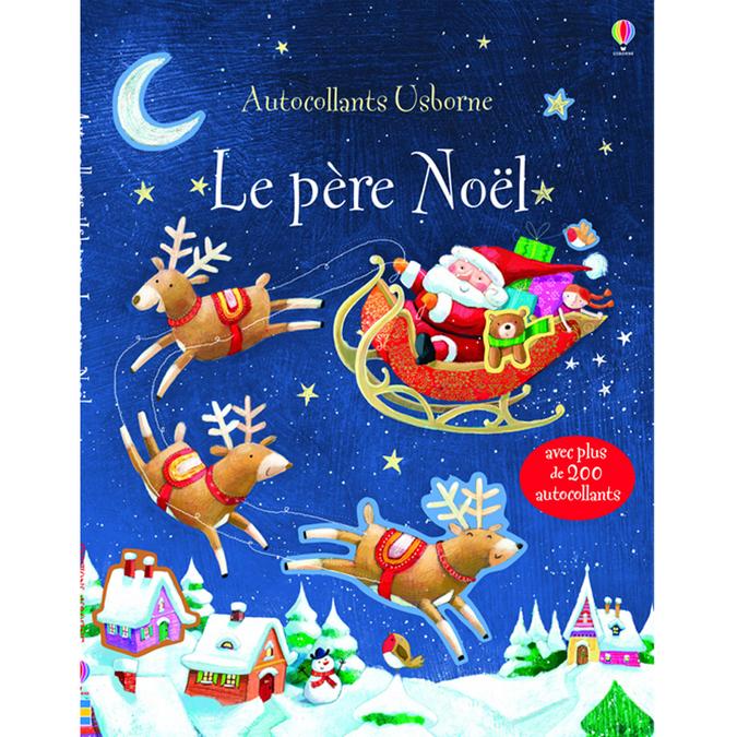 Livre Le père Noël - autocollants