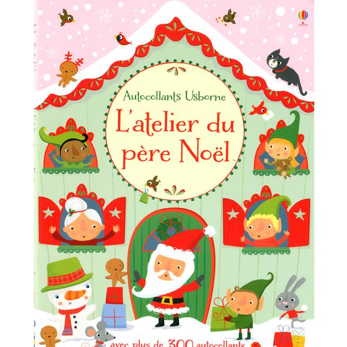 Livre L'atelier du père Noël