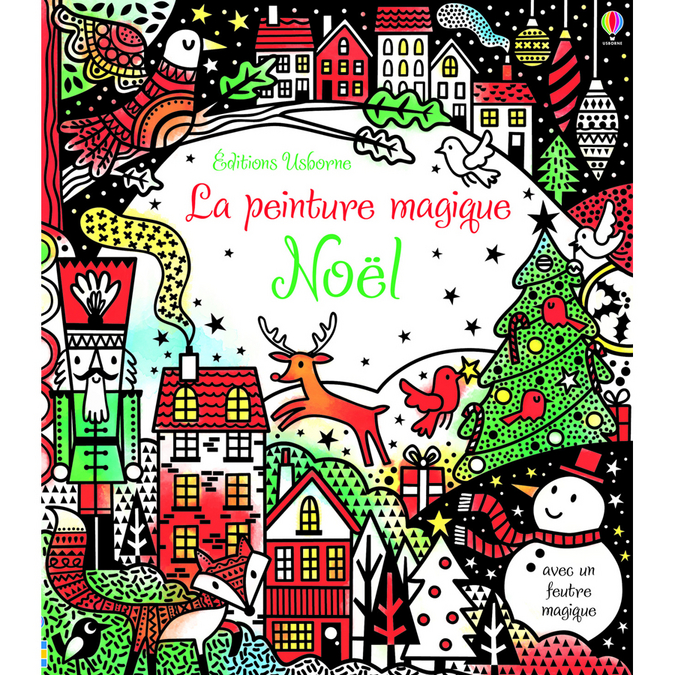 Livre La peinture magique Noël