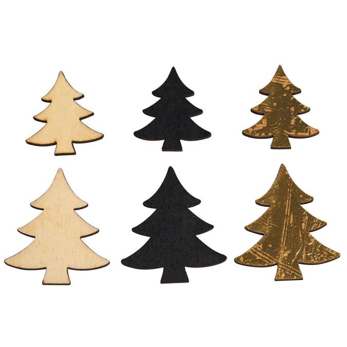 Arbres en bois miniatures