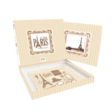 Album scrapbooking Kit Paris