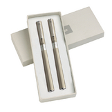 Parure champagne Electra (stylo plume + stylo bille)