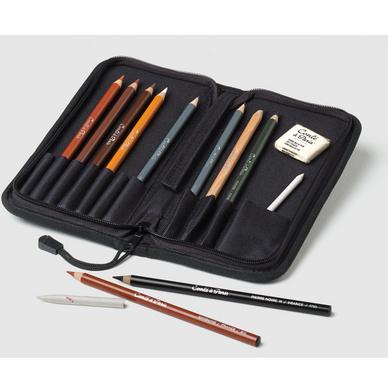 Trousse de crayons esquisse zip cont paris chez - Tuto trousse crayons de couleur ...