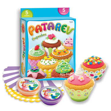 Pâte à modeler assortiment thème cupcakes