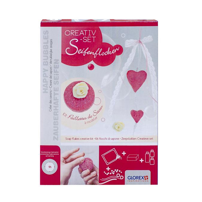 Kit paillettes de savon cœurs