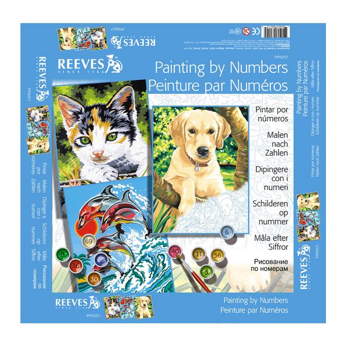 Peinture au numéro pour enfants - Animaux