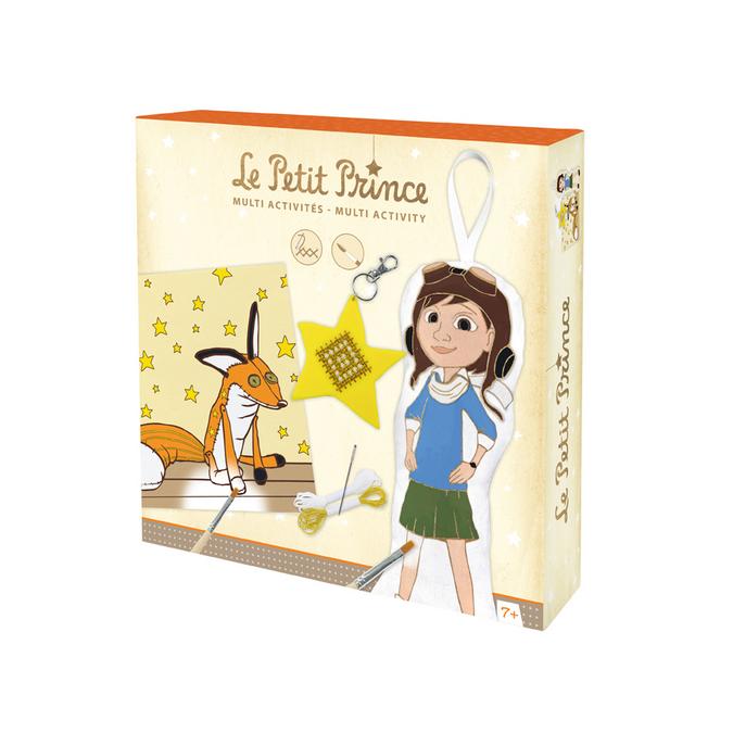 Poupée à peindre kit créatif - Le petit Prince