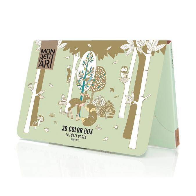 Pop-up - La forêt dorée 3D Color Box