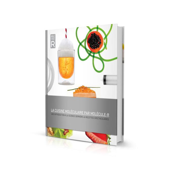 Livre de cuisine Molécule-R