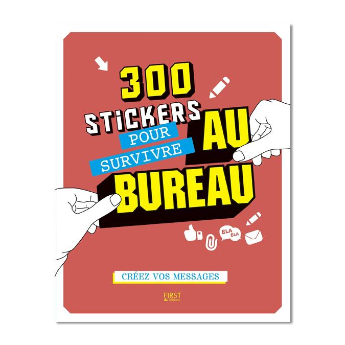 Stickers pour survivre au bureau 300 pièces
