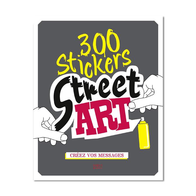 Stickers street art 300 pièces