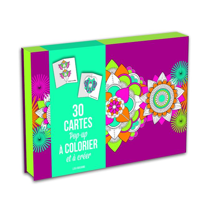 Kit pour créer vos propres cartes pop-ups - Colorier et envoyer