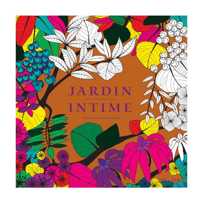 Livre de coloriage Jardin intime