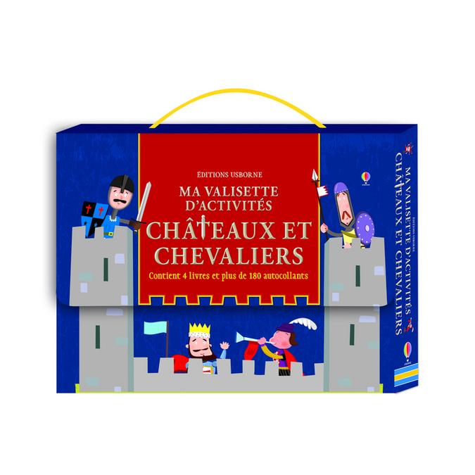Ma valisette d'acitivités - Châteaux et chevaliers