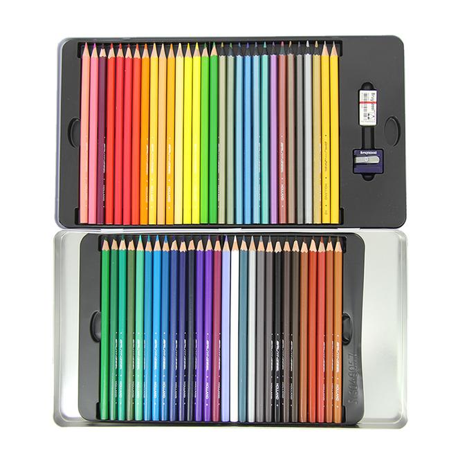 Crayons de couleur - Super sixties voiture coccinelle 60 pièces