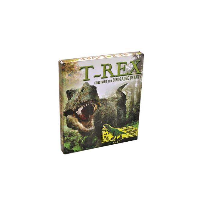 Livre T-Rex construis ton dinosaure géant