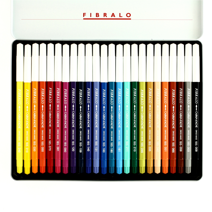 Feutre de coloriage Fibralo boîte de 24