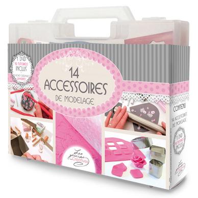 outil de modelage mallette de 14 accessoires pour fimo les graines cr atives chez rougier pl. Black Bedroom Furniture Sets. Home Design Ideas