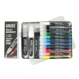 Paintmarker coffret pointe fine et large