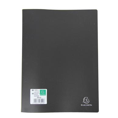 Porte vues a4 40 pochettes exacompta chez rougier pl for Porte vues couverture personnalisable
