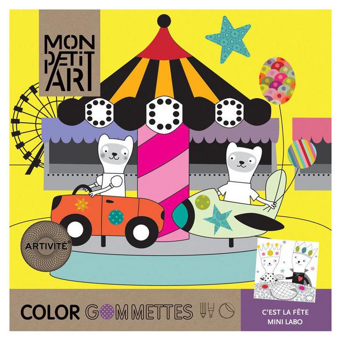 Color Gommettes - C'est la fête Mini labo