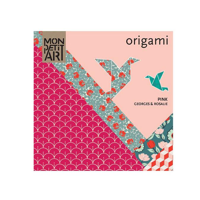 Papier origami Mon Pett Art rose
