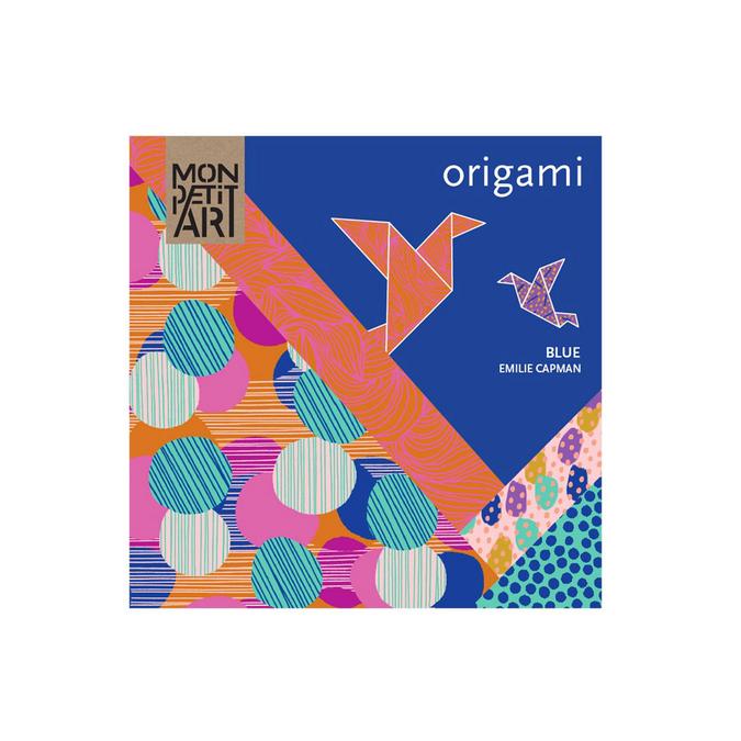Papier origami Mon Pett Art bleu