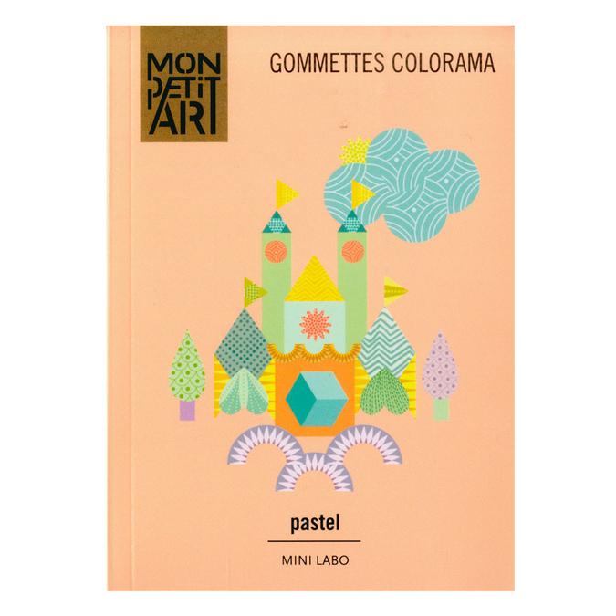 Gommettes Colorama Pastel - 750 gommettes