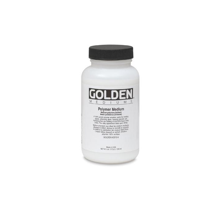 Médium polymère brillant 236 ml