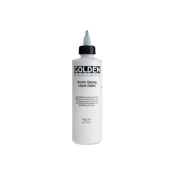 Médium acrylique pour glacis satiné 236 ml
