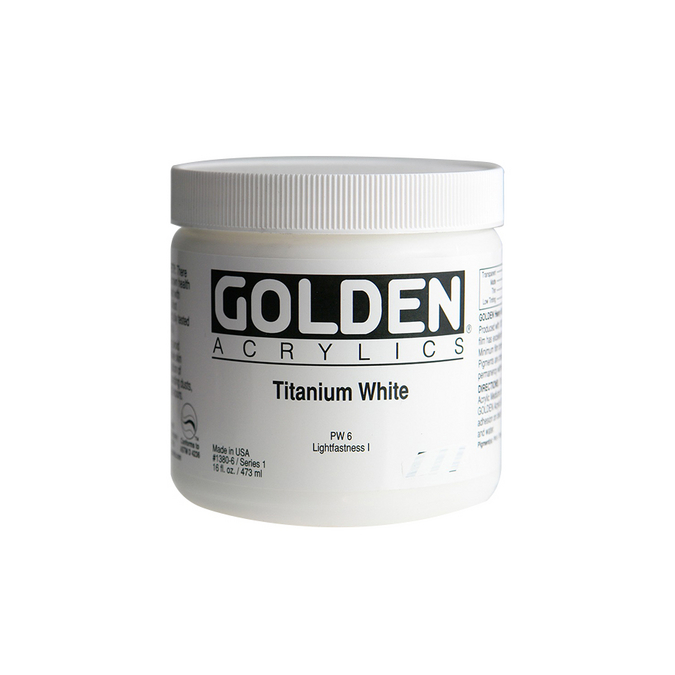 Peinture acrylique Heavy Body 473 ml 1380 - Blanc de titane