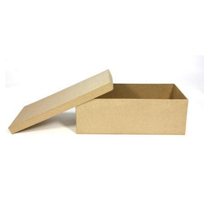 Objet en papier mâché boîte à ballerines 29 x 13 x 10 cm