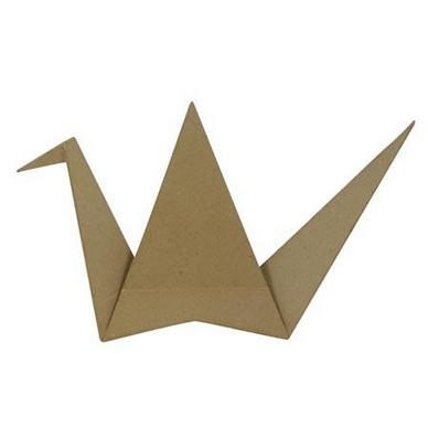 objet en papier m ch grue origami l 7 x 41 x 23 cm d copatch chez rougier pl. Black Bedroom Furniture Sets. Home Design Ideas