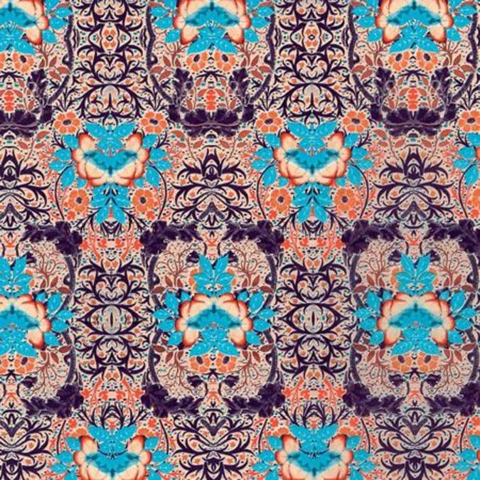 Papier Décopatch 30 x 40 cm 695 fleurs baroques