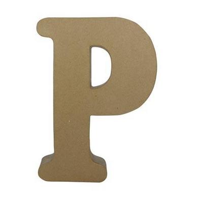 objet en papier m ch lettre p fantaisie d copatch chez rougier pl. Black Bedroom Furniture Sets. Home Design Ideas