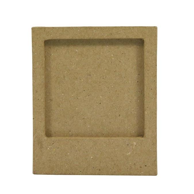 Objet en papier mâché cadre magnétique 1 x 7,5 x 9 cm