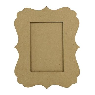 objet en papier m ch cadre feston 1 x 20 x 25 cm d copatch chez rougier pl. Black Bedroom Furniture Sets. Home Design Ideas