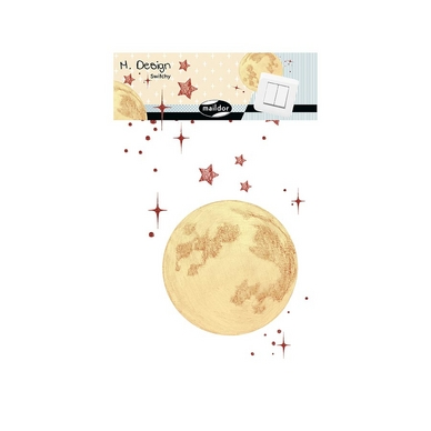 Stickers interrupteur M.Design - Switchy lune
