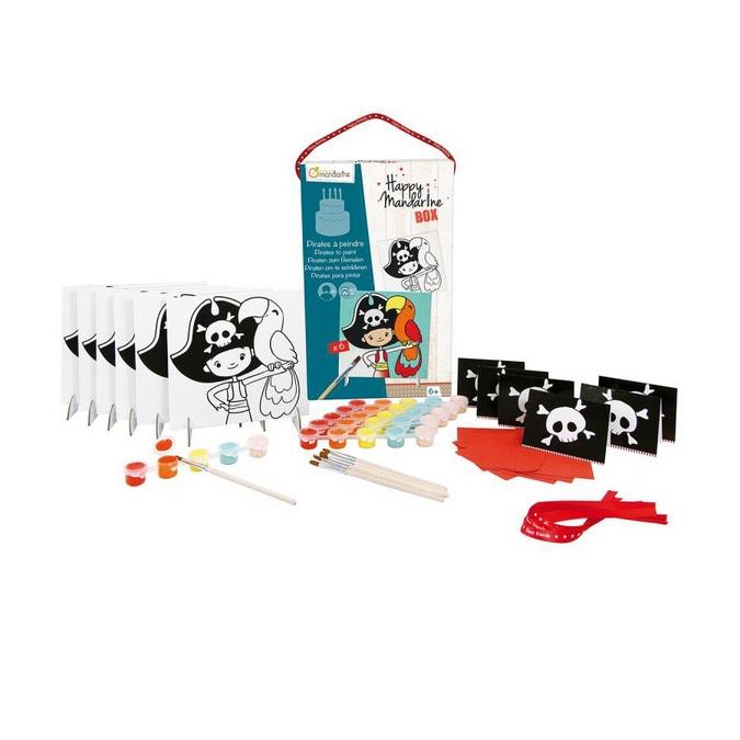 Jeux pour anniversaire Happy Mandarine Box - Pirates