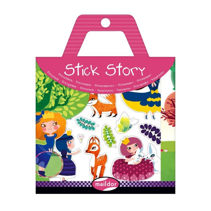 Stickers repositionnables Stick Story thème princesses